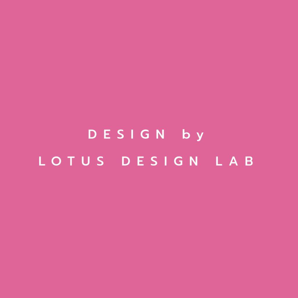 Lotus attitude - pink design by lotus design lab