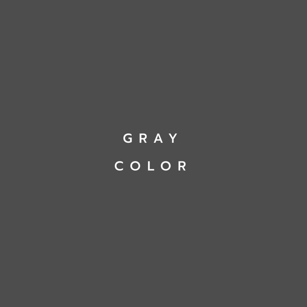Lotus attitude -GRAY Color