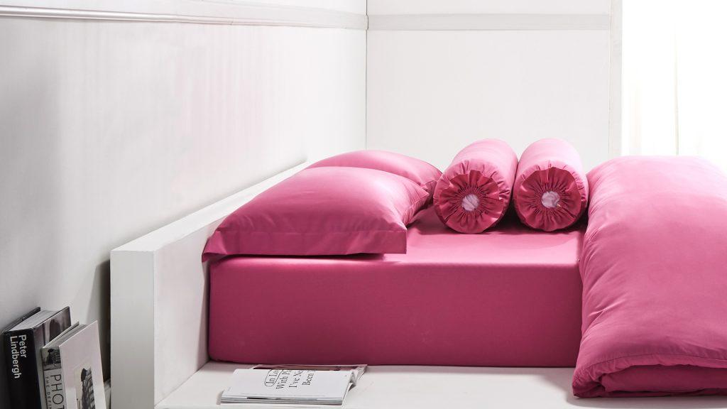 Lotusattitude - pink ชุดผ้าปูที่นอน