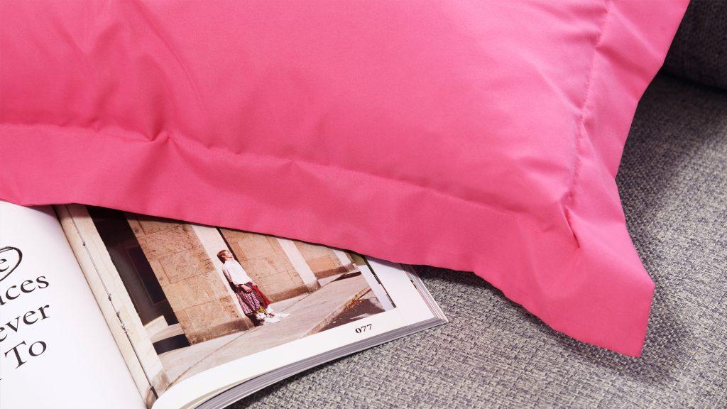 Lotusattitude - pink ปลอกหมอนหนุน
