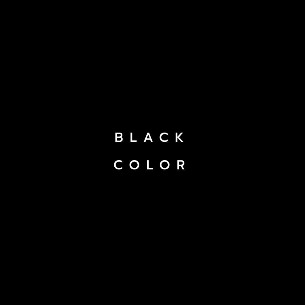 Lotus attitude - Black color