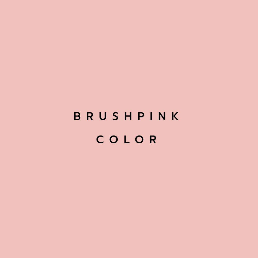Lotusattitude - BRUSHPINK color