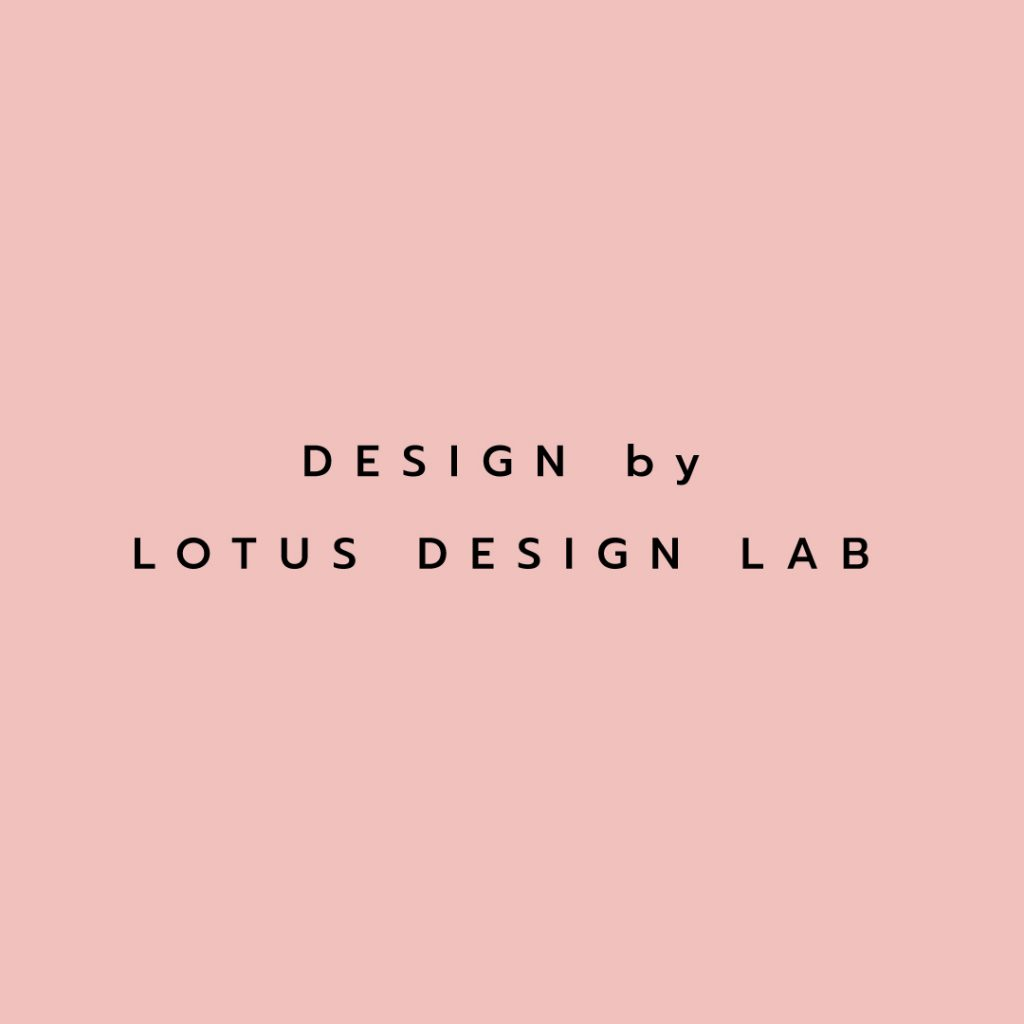 Lotusattitude - BRUSHPINK design by lotus design lab