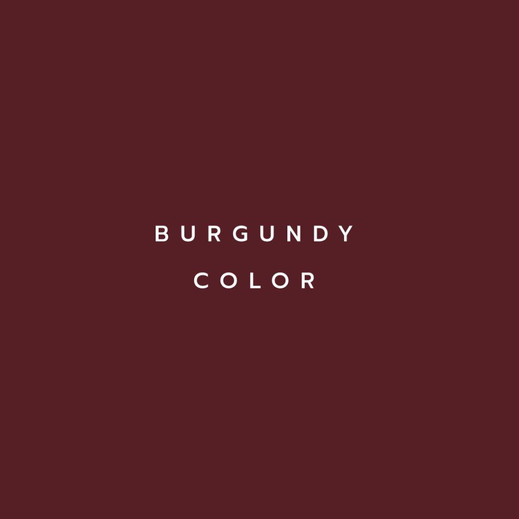 Lotus attitude - Burgundy Color