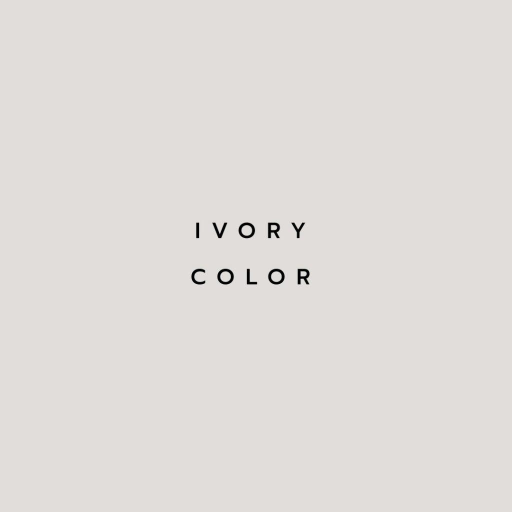 Lotus attitude - Ivory color