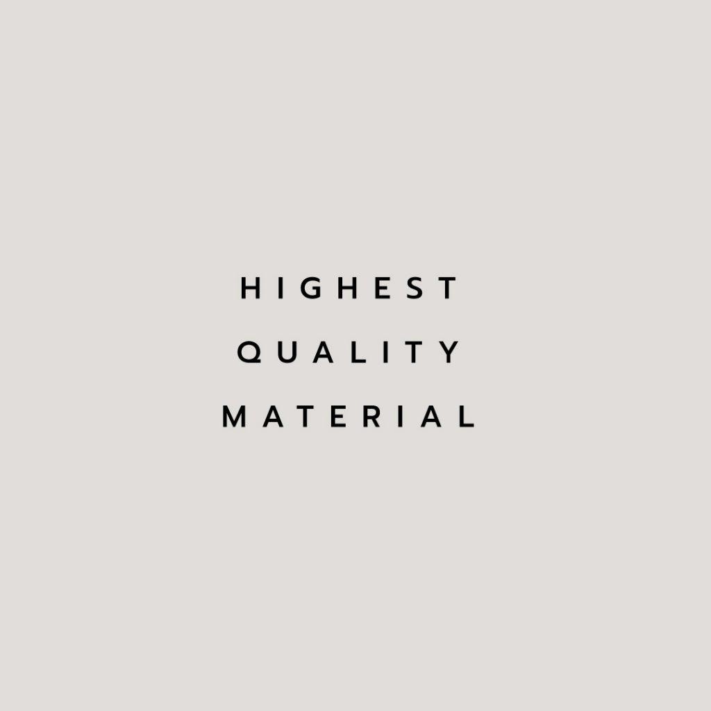 Lotus attitude - Ivory highest quality material