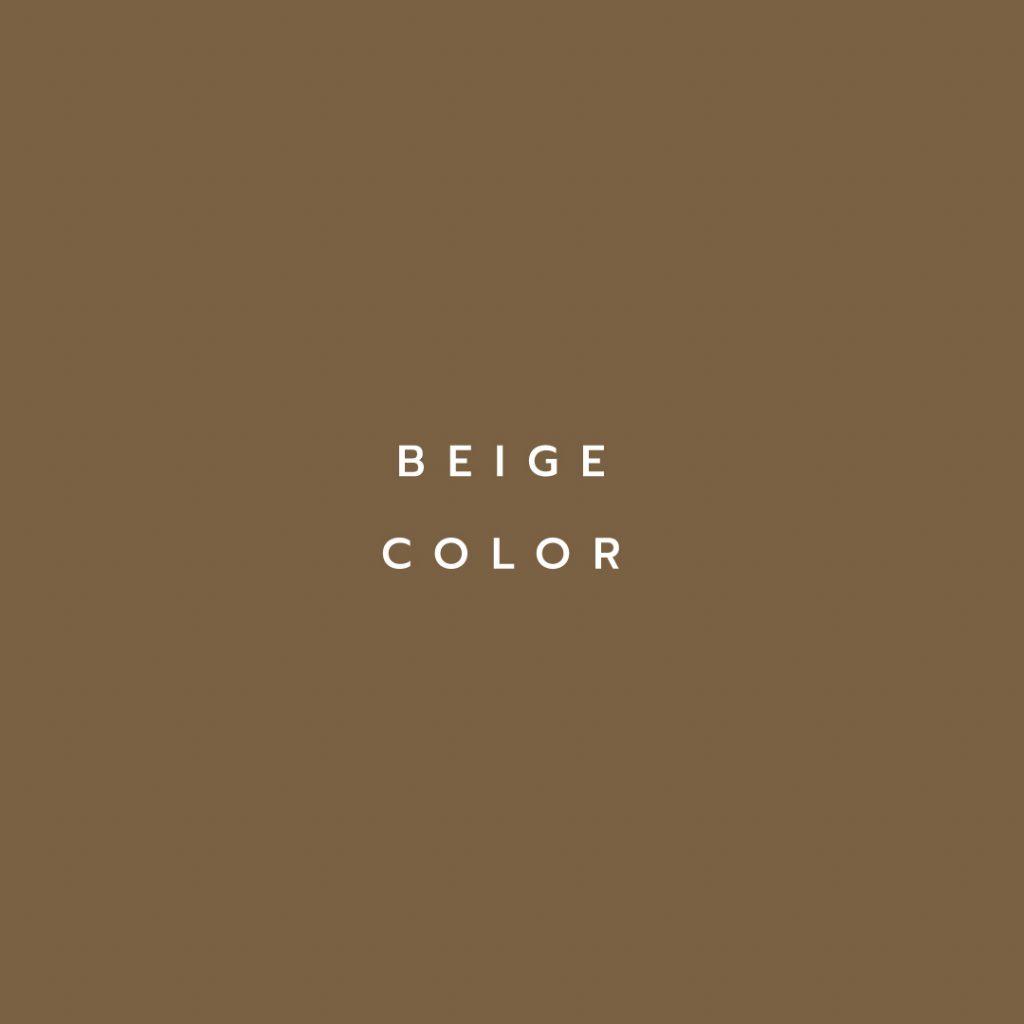 Lotus attitude - beige Color