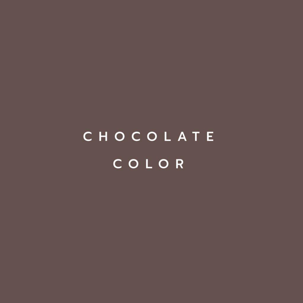 Lotus attitude - chocolate Color