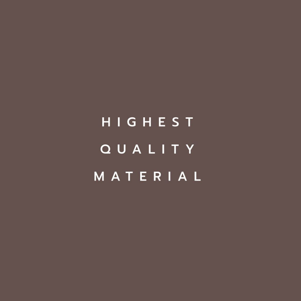 Lotus attitude - chocolate highest quality material