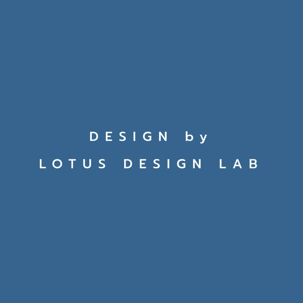 Lotus attitude - FAIRYBLUE design by lotus design lab