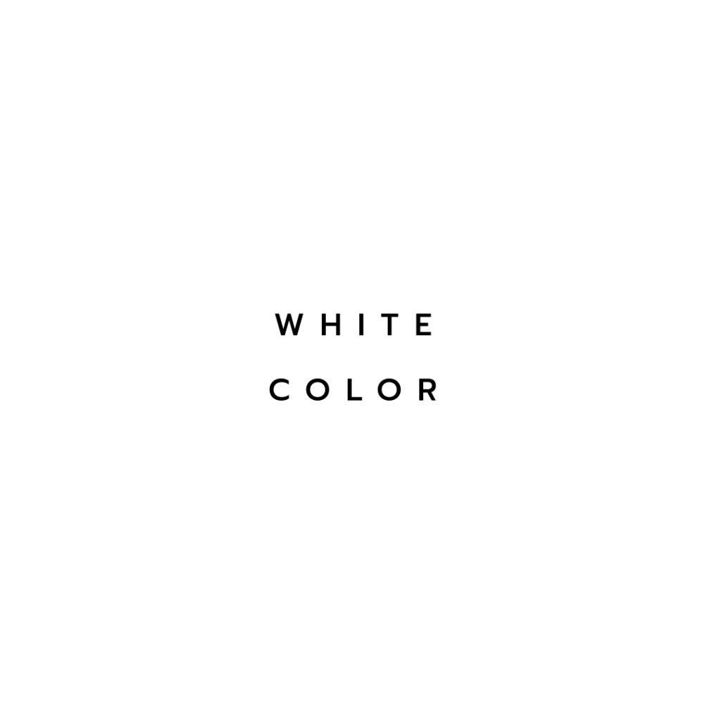 Lotus attitude - white Color