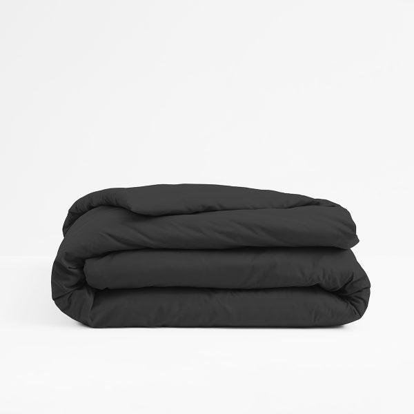 ปลอกผ้านวม - Lotusattitude - BLACK